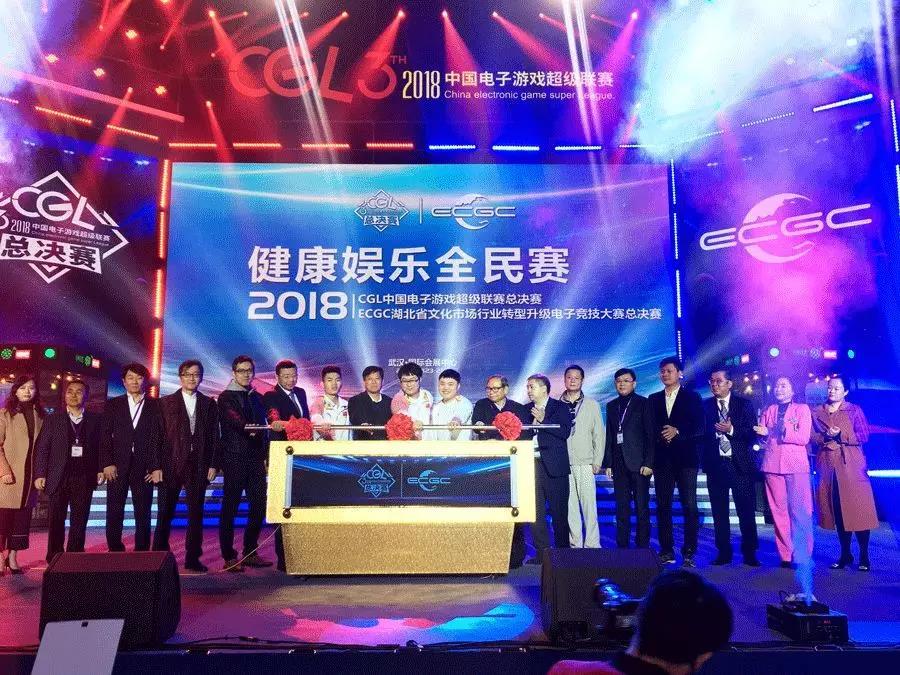 2018中国电子游戏超级联赛全国总决赛现场