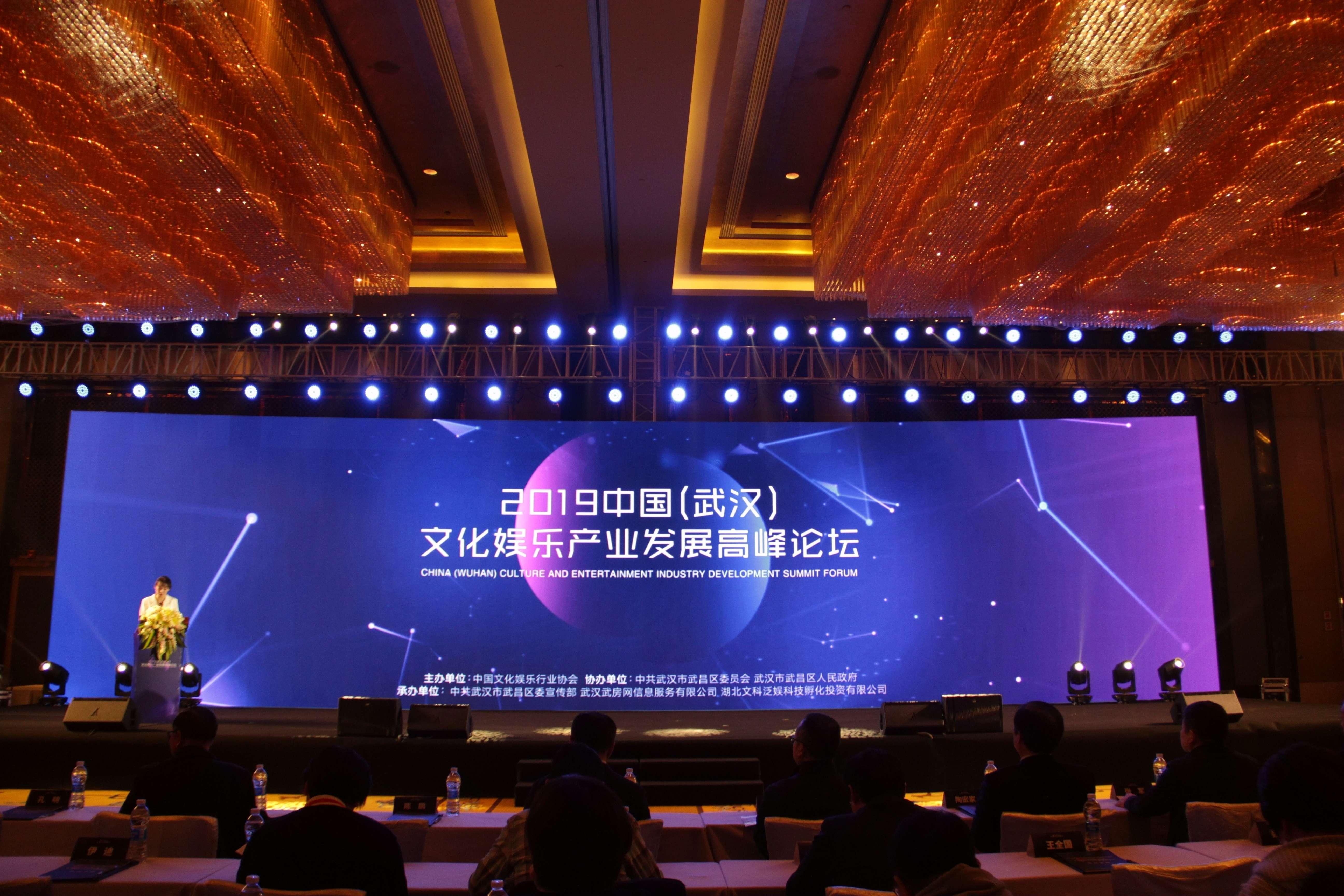 ▲2019中国文化产业发展高峰论坛